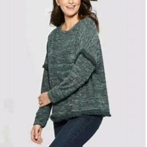 Knox Rose Sweaters - 🌸🌵🌼Knox Rose | Green Sweater NWT L